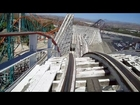 Colossus front seat on-ride HD POV Six Flags Magic Mountain