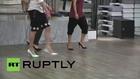Austria: Vienna academy teaches men to walk in high heels