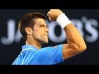 Djokovic's brilliant hot shot - Australian Open 2015