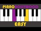 Humko Humise Chura Lo - Easy PIANO TUTORIAL - Verse [Left Hand]