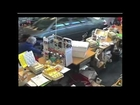 80 Year Old Woman Almost Hit by Car Crashing into Pharmacy