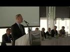 Carl Holst ved åbningen af Green Tech Center