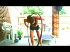 Kimfitnesschic LIVE! 10 min HIIT-Rebounding, Yoga,  Medicine ball and Hula Hoop  OH MY-day 89