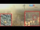 تصوير روسي على خط النار لآخر العمليات في حلب!!!-22/8-HD
