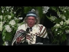 Rabbi Michael Lerner Rips Donald Trump At Muhammad Ali Funeral FULL Speech