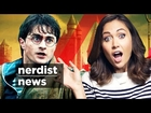 ZOMG is a NEW HARRY POTTER Book on the Way?! (Nerdist News w/ Jessica Chobot)