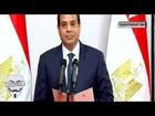 لحظة اداء الرئيس عبد الفتاح السيسي اليمين الدستورية امام المحكمة الدستورية العليا