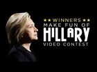 MAKE FUN OF HILLARY CONTEST WINNERS ANNOUNCED