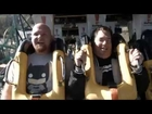 Batman The Ride Backwards at Six Flags Magic Mountain
