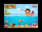 Dora Fishing Game Dora online Game / Dora Game/ Dora is best / Kids and Girls Cartoon Movies/