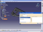 CATIA Knowledge Expert and Engineering Optimization (KOX) - Hanger