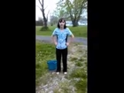 Ashley Ann Groh - The Cold Water Challenge!!