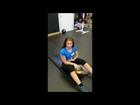 Abs & Cardio Exercise Using Hoist Machine & Medicine Ball