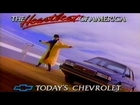 1988 - Commercial - Chevrolet - The Heartbeat of America! - Today's Chevrolet Celebrity
