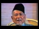 Last speech of Tunku Abdul Rahman