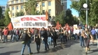 Greek 24-hour general strike as protesters demonstrate against austerity measures