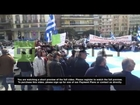 Greece: Retired security forces march against austerity measures