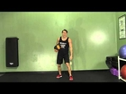 Medicine Ball Ballistic Row - HASfit Medicine Ball Exercises - Medicine Ball Exercise