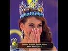 Miss World 2014 Official Winner Announcement - Miss South Africa - Miss Rolene Strauss