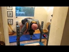 video diary day 2 using ALEC home multi gym