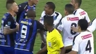 Juan Falcon swoops to score controversial goal