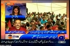 GEO News Room Ayesha Baksh with MQM Khawaja Izhar-ul-Hassan (04 JUNE 2014)