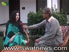 Gul Panra interview with shreen zada in swat 2014