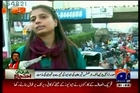 12th Dec strike: PTI workers torture GEO Umaima malik lady reporter & cameraman Team in Karachi