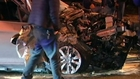 Dramatic hit and run causes 8-vehicle pile-up in China