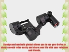 HOSdog G3 Ultra 3-Axis Handheld Brushless Handle Steady Gimbal Camera Mount for Gopro Hero