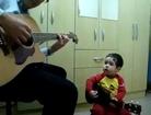 Two year old singing -Don't Let Me Down 2015- - Jordan Jansen Music