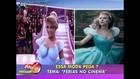 Cinderella body paint girl