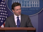 White House Press Secretary Jokes About Brady